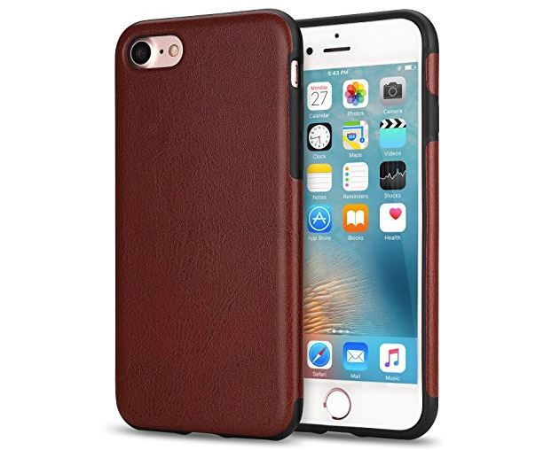 8 TENDLIN iPhone 8 Case with Hybrid Slim Case