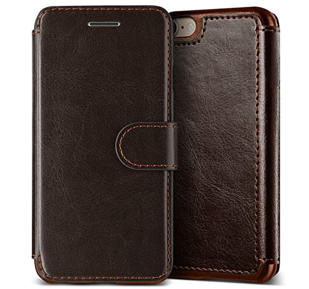 9 Lumion iPhone 8 with PU Leather folio Case