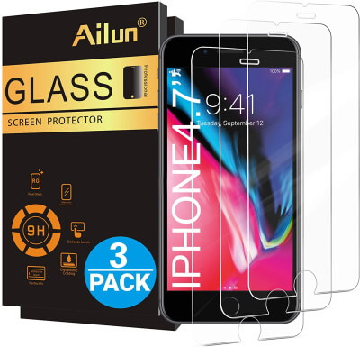 Ailun iPhone 8 Glass Screen Protector