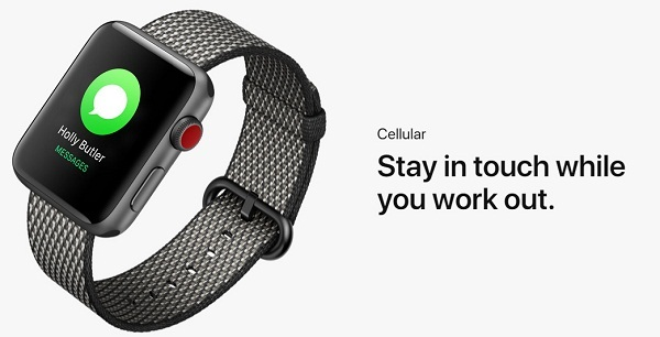 Buy Apple Watch 3 in USA - GPS with cellular data buy in USA Price