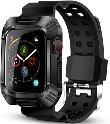 Чехол BeeFly для Apple Watch Series 4 Series 5 с ремешком