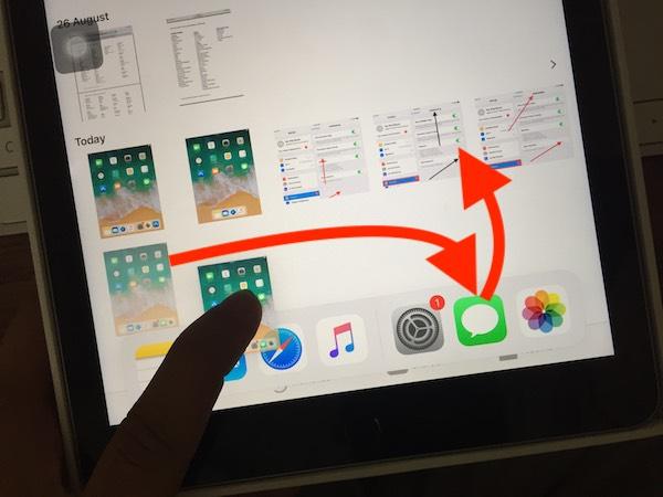 iOS 13/12/iOS 12 4 : How to Use Multitasking on iPad: Drag