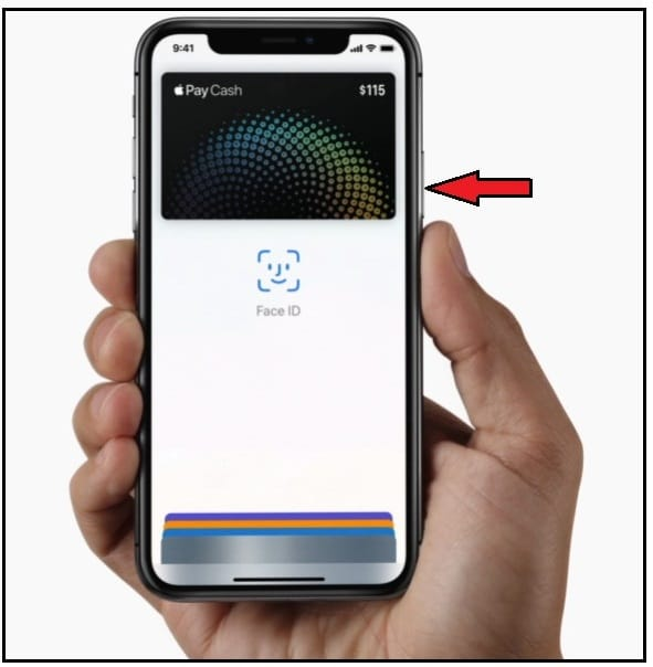 Get Apple Pay Cash Card on iPhone X without Home Button
