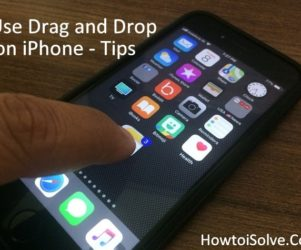 How to Use Drag and Drop in iOS 11 on iPhone