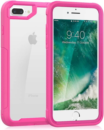 SEYMAC iPhone 8 Plus Bumper Case