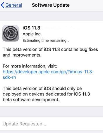 Update ios 11.04