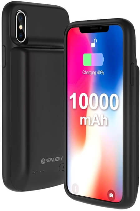 iPhone X Battery Case 10000mAh iPhone X Charger Case