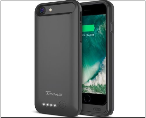 1 Trianium Extended Battery Case for iPhone 8 and 8 Plus -