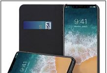 2 Best Slim card holder cover for iPhone X in Leather quality
