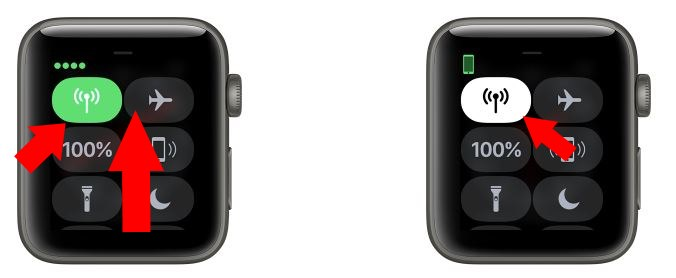 2 Enable and Disable Cellular Data on apple watch
