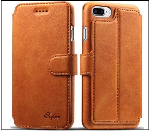 2 PASONOMI iPhone 8 Leather wallet case