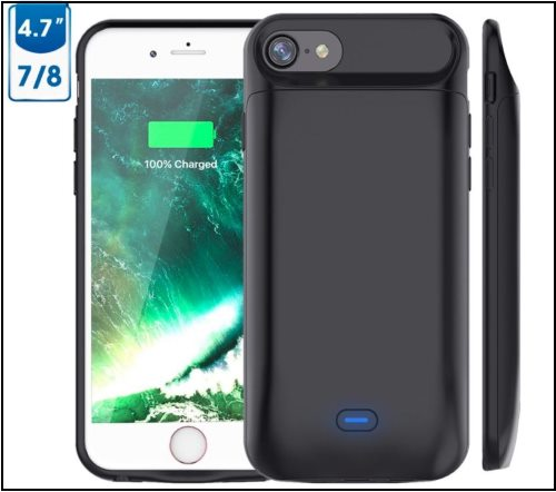 2 Vproof iPhone 8 and iPhone 8 Plus Battery Case -