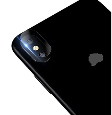 2.Flexible fibrous Glass Protector for iPhone X
