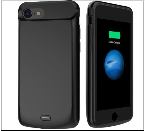 3 ALCLAP Battery Case for iPhone 8 and 8 Plus -
