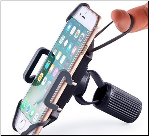 3 Durable and Adjustable Bike mount holder for motorbike