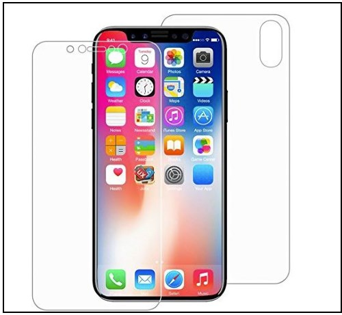4 Leafbook iPhone X Screen Protector