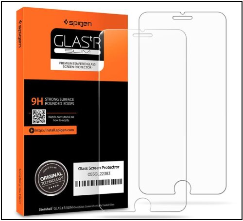 4 Spigen tempered glass iPhone 8 Plus Screen Protector