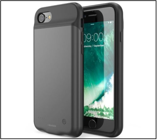 4 iBlason Battery Case for iPhone 8 and iPhone 8 Plus -