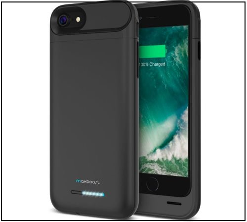 5 MaxBoost iPhone 8 and iPhone 8 Plus Battery Case -