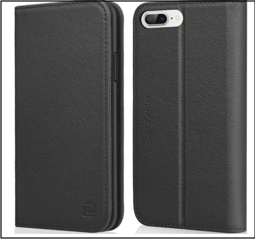 5 ZOVER iPhone 8 Plus Leather finished case