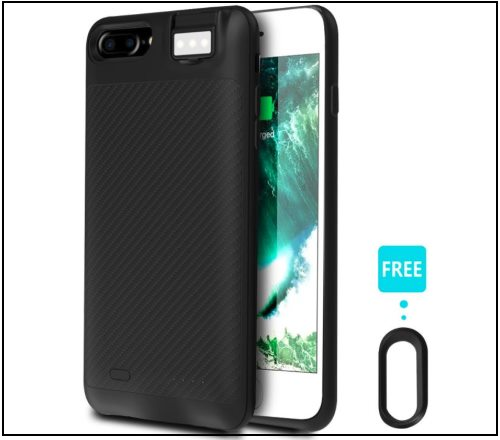 6 Coffea Battery Case for iPhone 8 and iPhone 8 Plus -