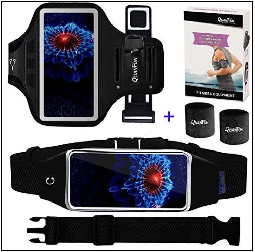 8 Running armband and Belt for iPhone X for hiking and jogging