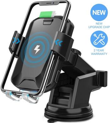 CHGeek 10W Qi-Wireless Car Charger