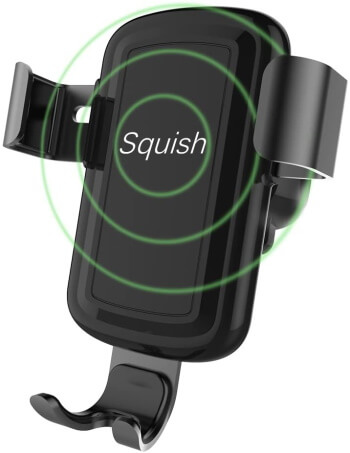 Squish - Awesome iPhone X Wireless Car Charger