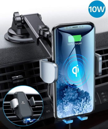 andobil Qi Wireless Car Charger Mount