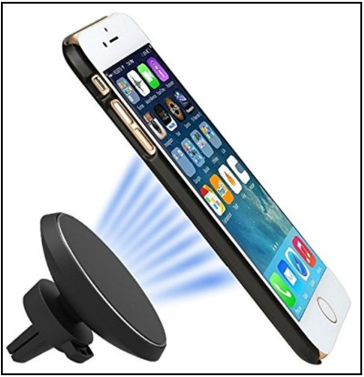 best iPhone X Car Wireless Charger 360‹ Rotatable Magnetic Car Air Vent Charging