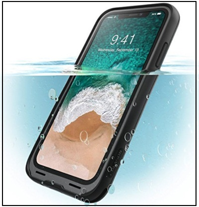 i-Blason iPhone X Waterproof Full-body Rugged Case with Built-in Screen Protector