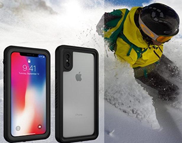 b298f7e891f19d Best iPhone X Waterproof Case in 2019:IP68 Underwater Cases Belt Clip