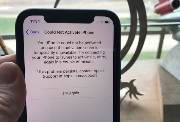 could not activate iphone could not activate iphone x fix iphone x activation 13896