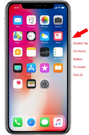 1 Use Face ID for download app from app store on iPhone X