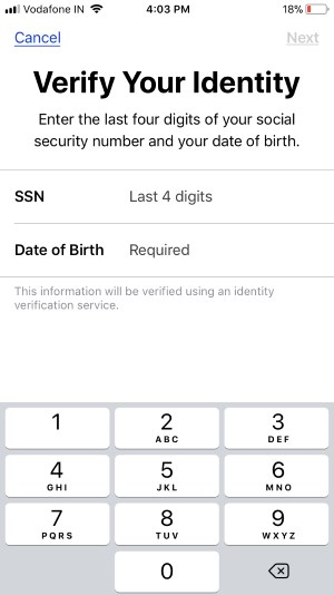 2 SSN Number for Verify your Identity