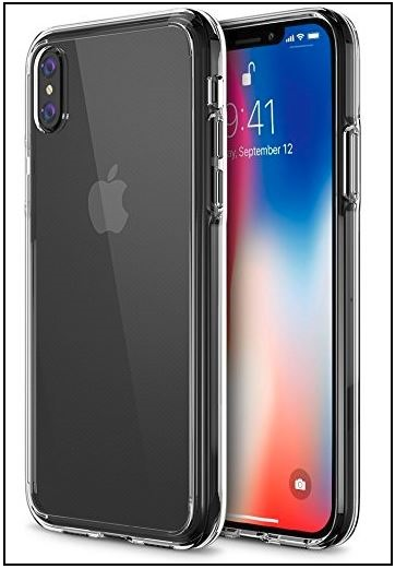 2 Trianium iPhone X Clear Case