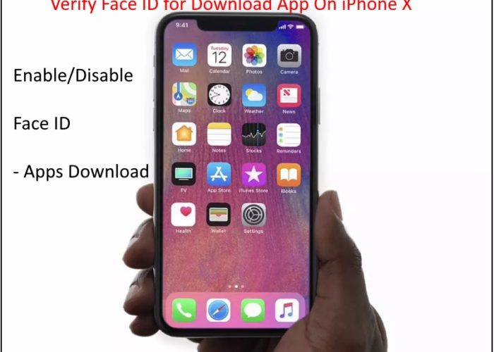 2 Validate App Store app download using Face ID