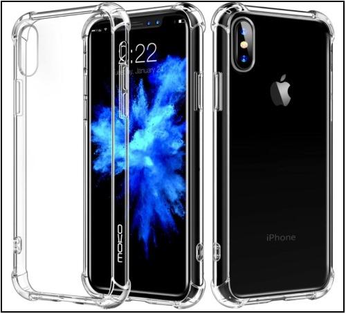 3 Moko Anti scratch Clear Case for iPhone X