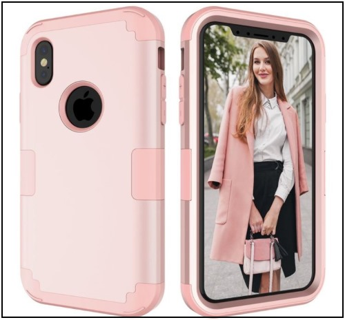 4 Full Body iPhone X protective case for Women