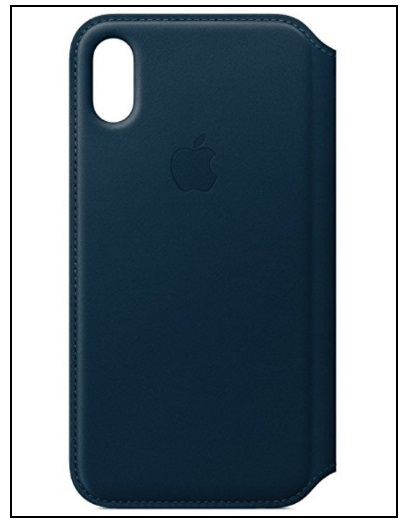 Apple iPhone X Leather Wallet Case Card Slots