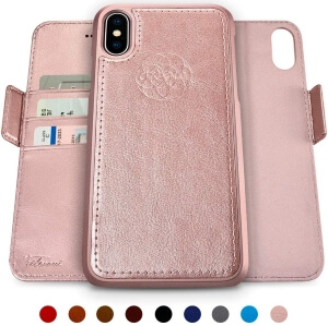 Dreem Fibonacci 2-in-1 Wallet-Case for iPhone X