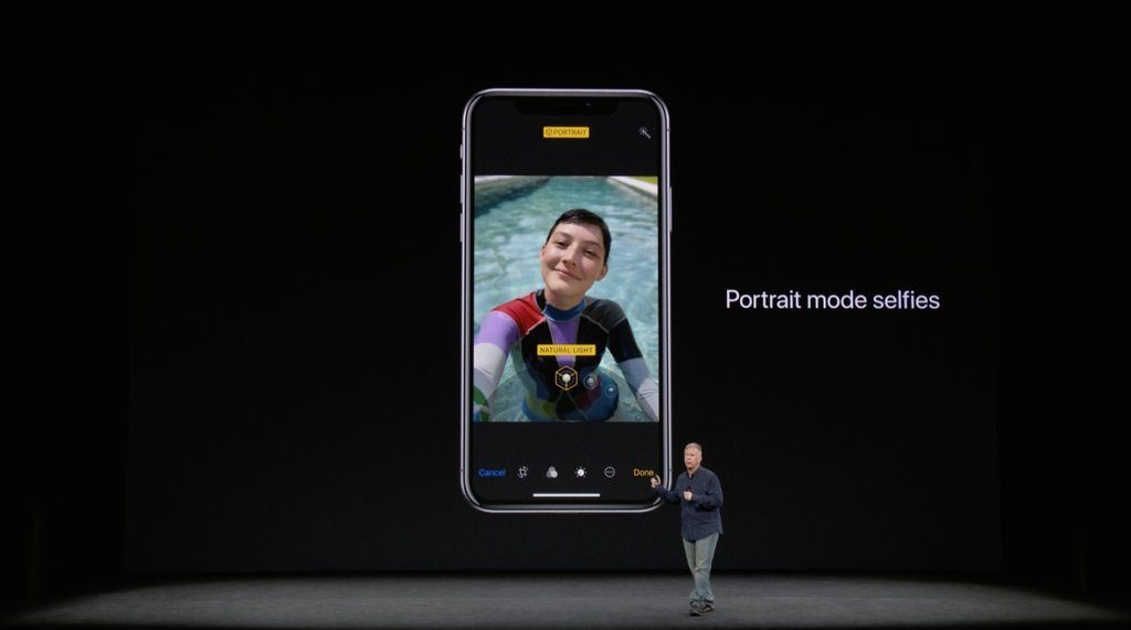 Take Selfie in Portrait mode on iPhone X