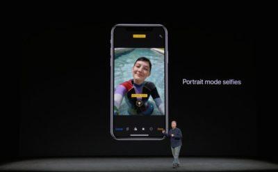 Take Selfie in Portrait mode on iPhone X