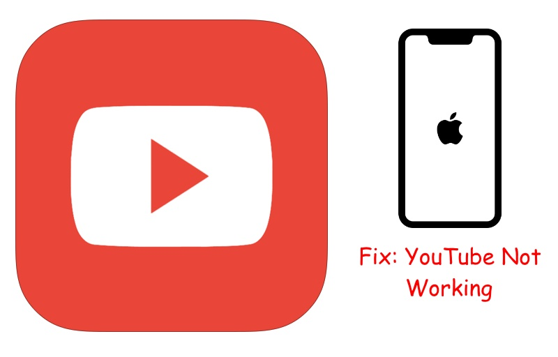 Fix YouTube won't open on iPhone XS Max/XS/XR/X or iPhone 8