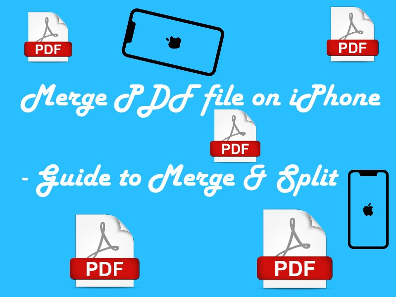 1 merge PDF on iPhone