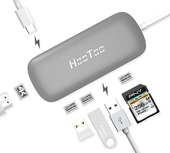 2 Hootoo USB port for MacBook Pro USB C
