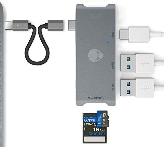 4 Stouch Best MacBook Pro USB Hub