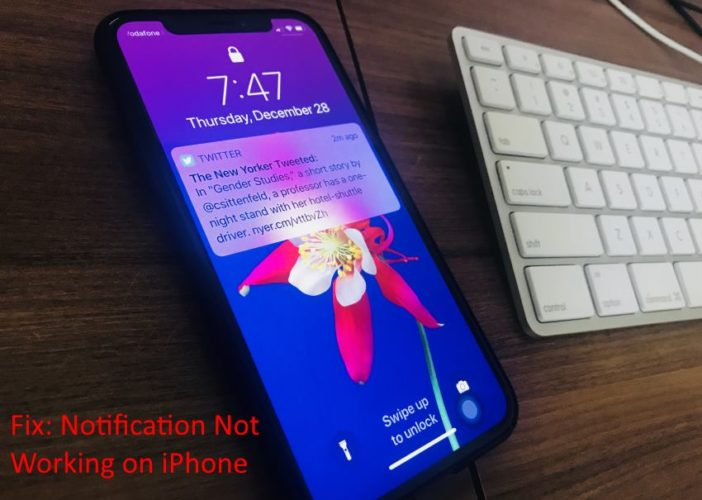 5 Get Fixed Notifications not working on iPhone lock screen on home screen