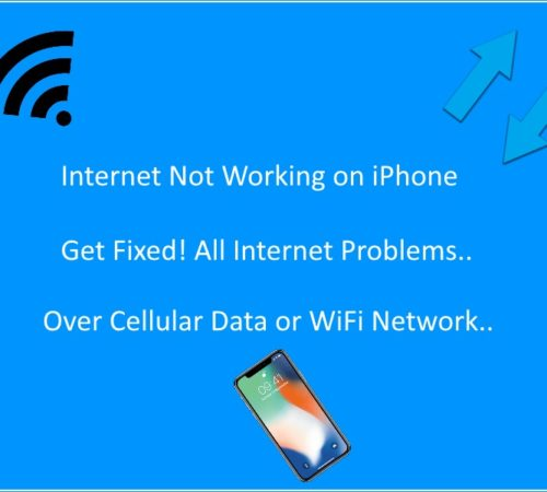 5 Internet Connection Not Working on iPhone X