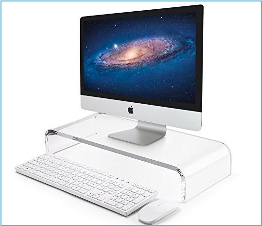 9 AboveTEK iMac Pro Monitor Stand for office and home use